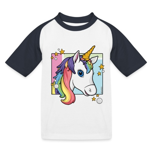 TibouD'MAGIE (Design only) - T-shirt baseball Enfant