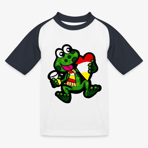 Oeteldonk Kikker - Kinderen baseball T-shirt
