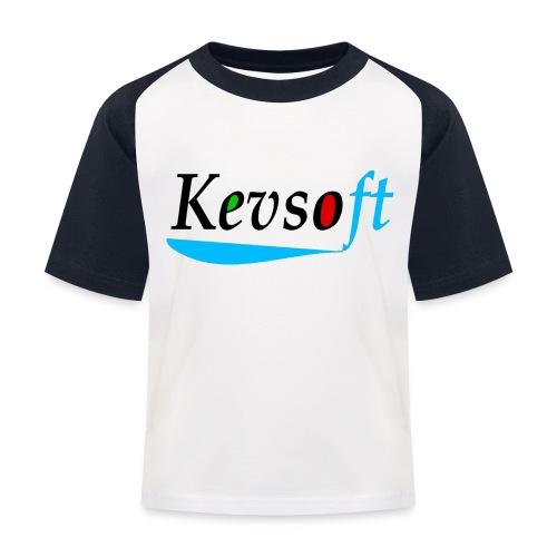 Kevsoft - Kids' Baseball T-Shirt