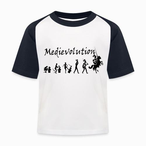 Medievolution - T-shirt baseball Enfant