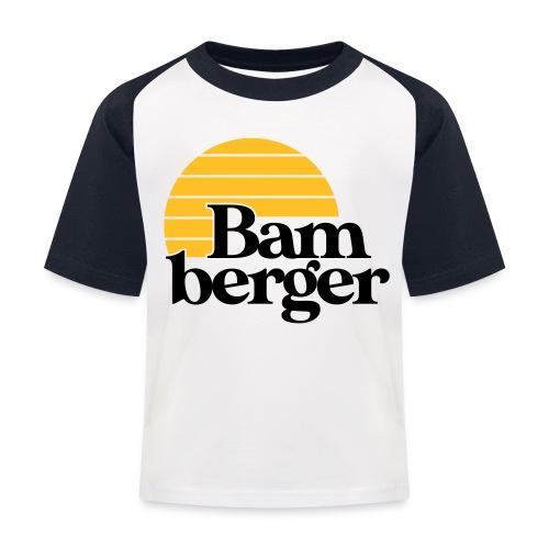 Echt Bamberger - Kinder Baseball T-Shirt