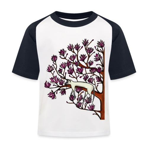 Magnolia - Baseboll-T-shirt barn