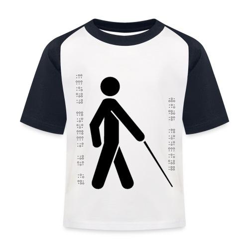 Blind T-Shirt - Kids' Baseball T-Shirt