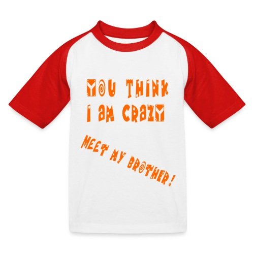 Crazy Brother - Lasten pesäpallo  -t-paita