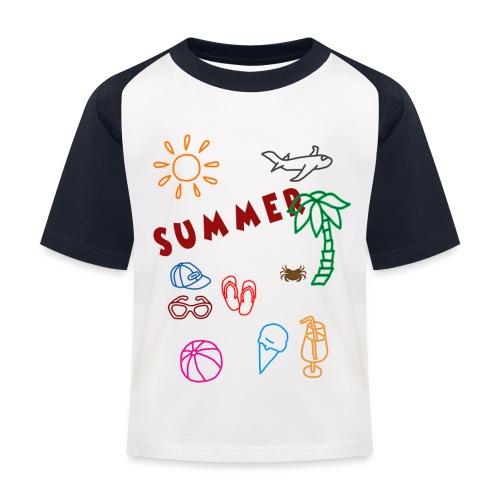 Summer - Lasten pesäpallo  -t-paita