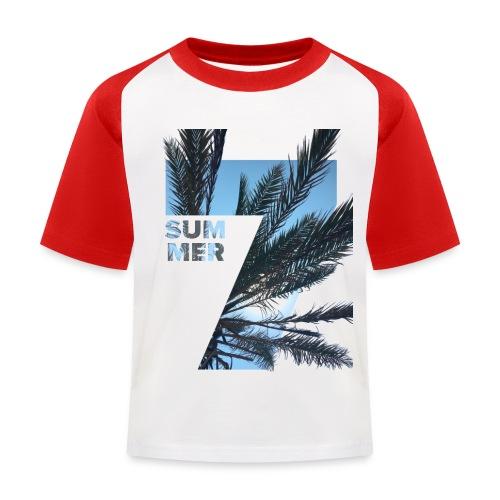 Summertime - Kinderen baseball T-shirt