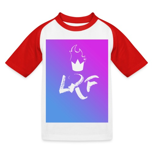 LRF rectangle - T-shirt baseball Enfant