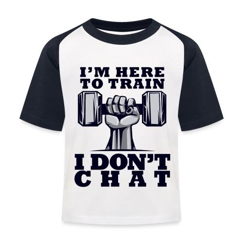 Train Chat - Lasten pesäpallo  -t-paita
