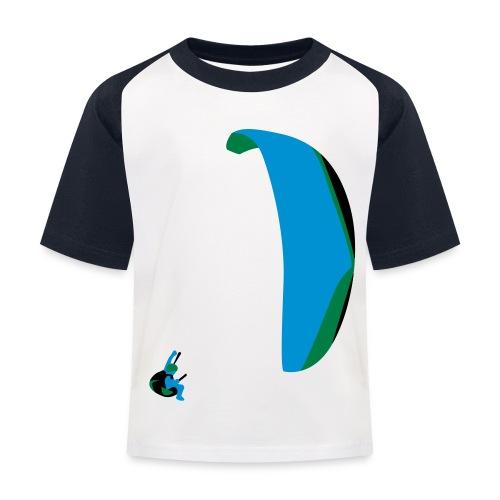 Akrobatik Paragliding - Kids' Baseball T-Shirt