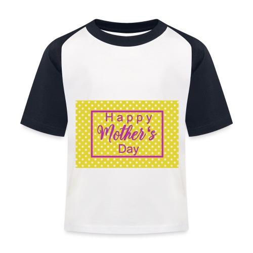 Muttertag - Kinder Baseball T-Shirt