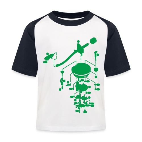 tonearm05 - Kinderen baseball T-shirt