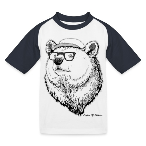 Lights Of Siberia - Kids' Baseball T-Shirt