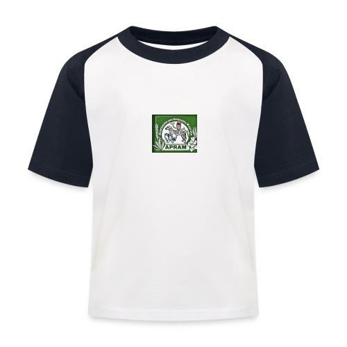 logo apram jpg - Kinder Baseball T-Shirt