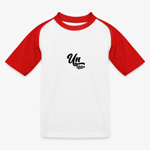 Union - T-shirt baseball Enfant