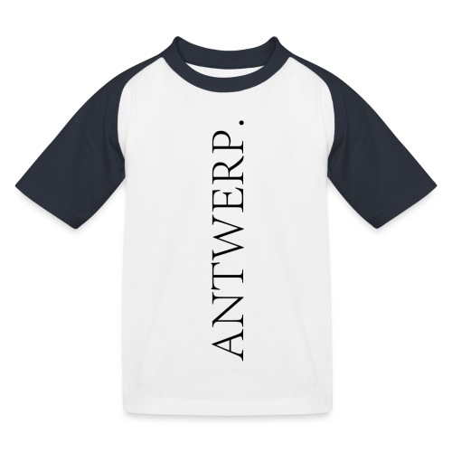 ANVERS - T-shirt baseball Enfant