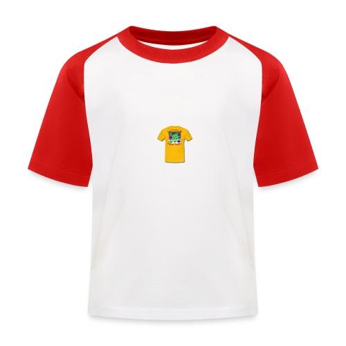 Castle design - Baseball T-shirt til børn