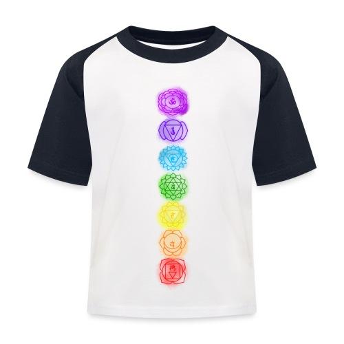 linea chakra - Maglietta da baseball per bambini