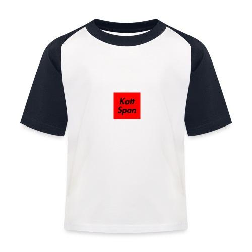 Katt Span - Kids' Baseball T-Shirt