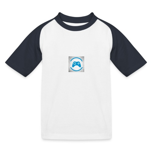 mijn logo - Kinderen baseball T-shirt