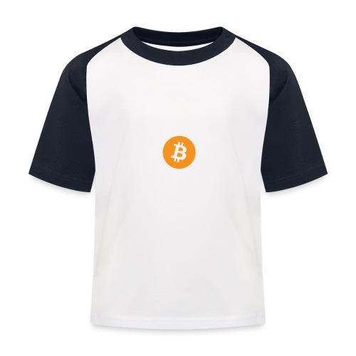 Bitcoin - Kids' Baseball T-Shirt
