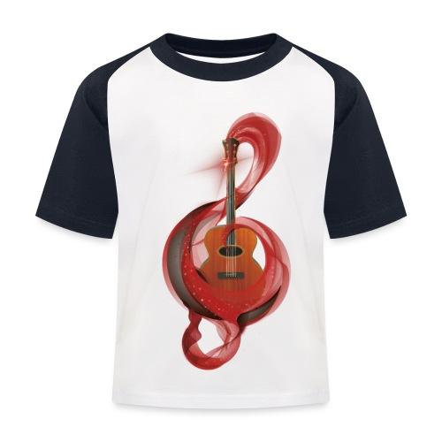 Power of music - Maglietta da baseball per bambini