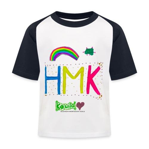 HMK Montessori-koulun omat - Lasten pesäpallo  -t-paita