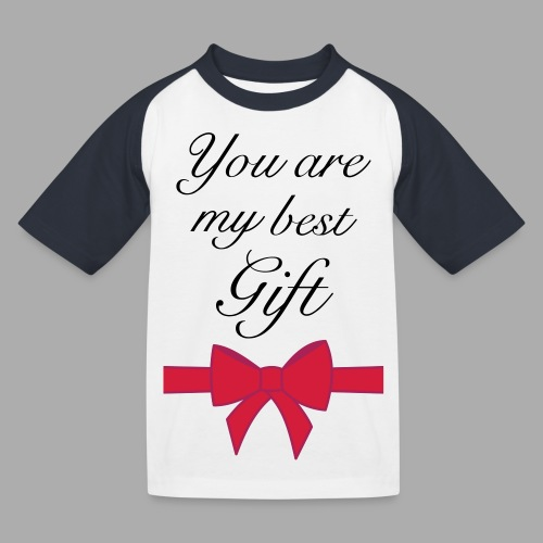 you are my best gift - Kids' Baseball T-Shirt
