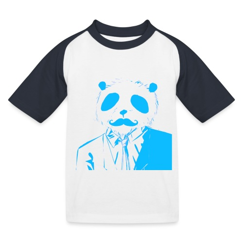 BluePanda Logo - Kids' Baseball T-Shirt