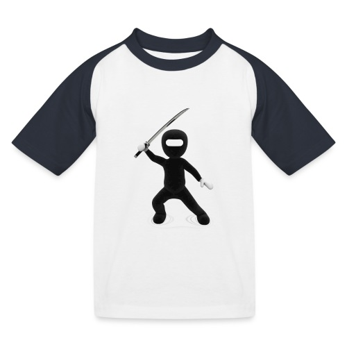 Ninja - T-shirt baseball Enfant