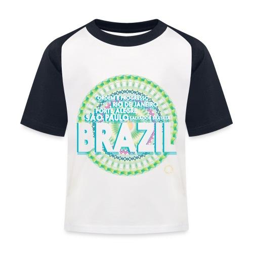 Lemon Brazil Mandala - T-shirt baseball Enfant