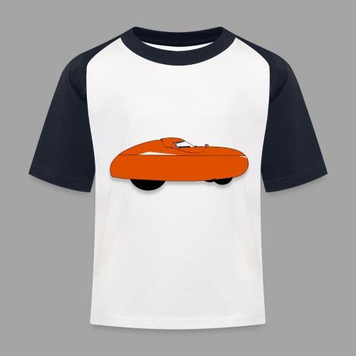 it's a velomobile white text - Lasten pesäpallo  -t-paita