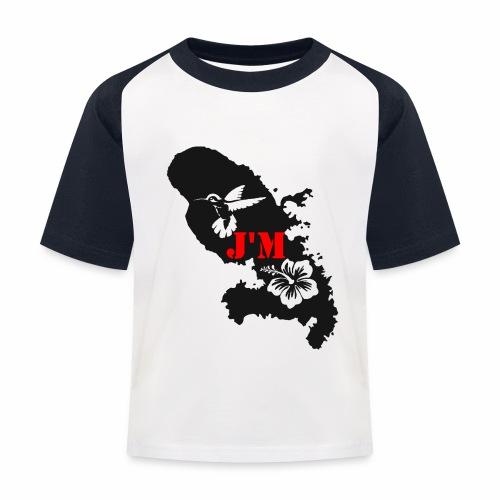 J'M La Martinique - T-shirt baseball Enfant