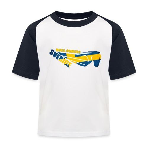 Buell Owners Sverige - Baseboll-T-shirt barn