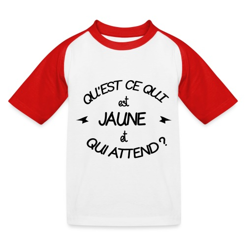 Edition Limitée Jonathan - T-shirt baseball Enfant