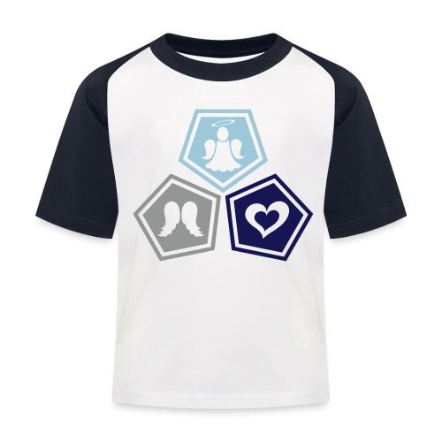 Tee shirt baseball Enfant Trio ange, ailes d'ange - Kids' Baseball T-Shirt