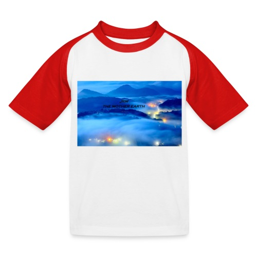 the mother earth collection 2017 - T-shirt baseball Enfant