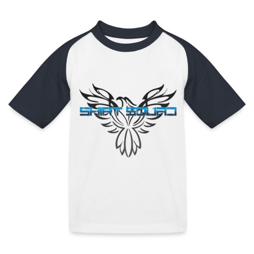 Shirt Squad Logo - Kids' Baseball T-Shirt
