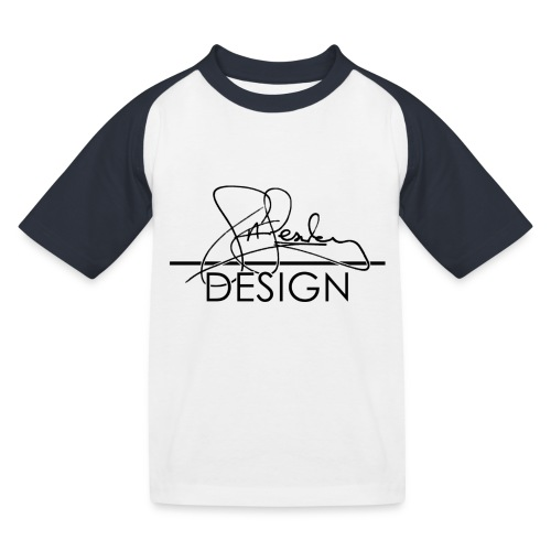 sasealey design logo png - Kids' Baseball T-Shirt