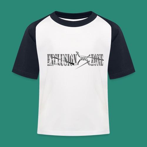 EXCLUSION ZONE - Kinder Baseball T-Shirt