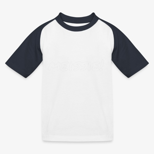 meissie - Kinderen baseball T-shirt