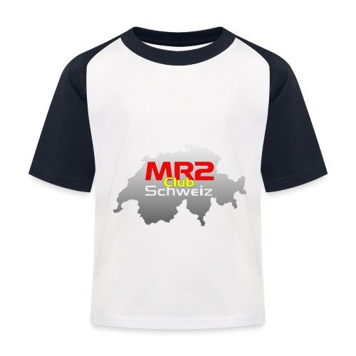 Logo MR2 Club Logo - Kinder Baseball T-Shirt