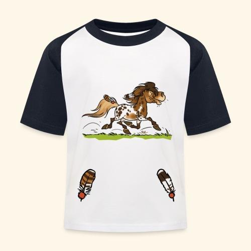 Mein Shetty das Schönste (Text weiss) - T-shirt baseball Enfant