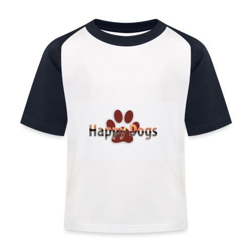 Happy dogs - Kinder Baseball T-Shirt