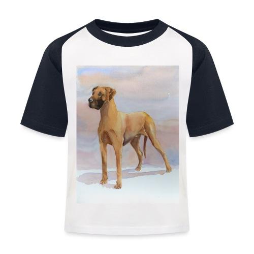 Great Dane Yellow - Baseball T-shirt til børn