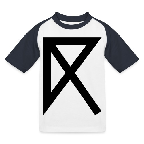 R - Kids' Baseball T-Shirt