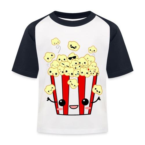 PopCorn - Camiseta béisbol niño