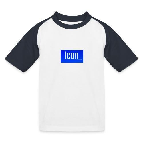 Icon kids small logo tshirt - Kids' Baseball T-Shirt