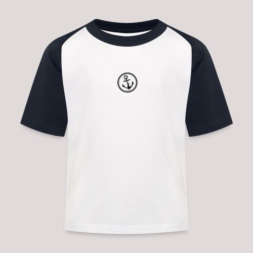 Ankerrund - Kinder Baseball T-Shirt