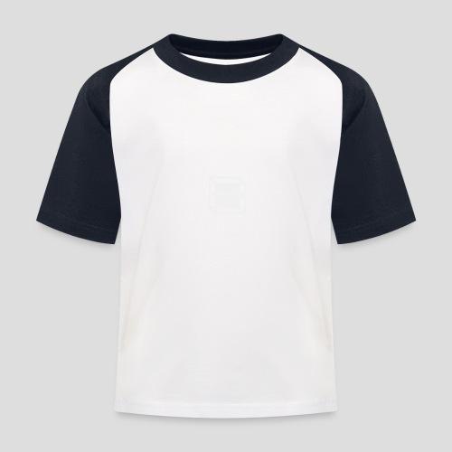 Squared Apparel White Logo - Kids' Baseball T-Shirt