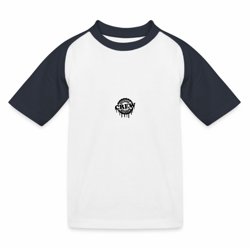 cool official crew member stamp design - Kinderen baseball T-shirt